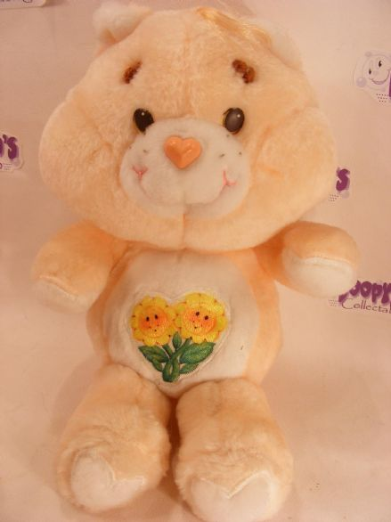 "VINTAGE 12"" FRIEND CARE BEAR 80S CARE BEARS - MINT CON"